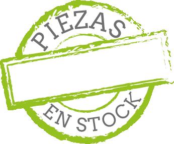 Piezas en stock