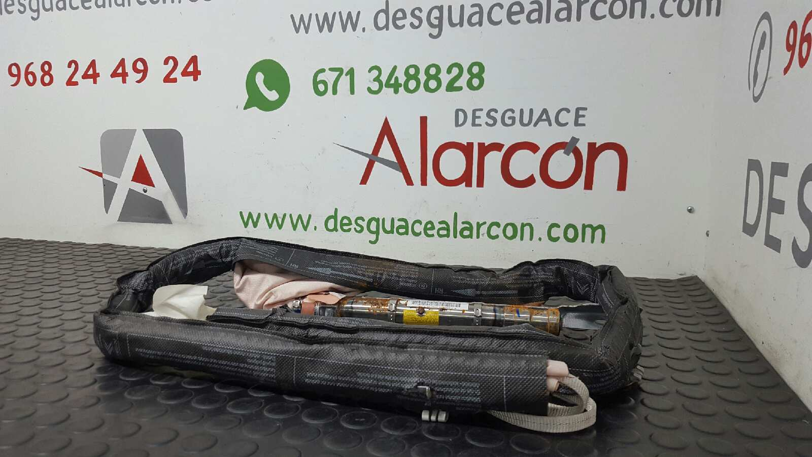 AIRBAG CORTINA DELANTERO IZQUIERDO